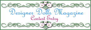 DESIGNER DOLLS MALE HUNK CONTEST ENTRY