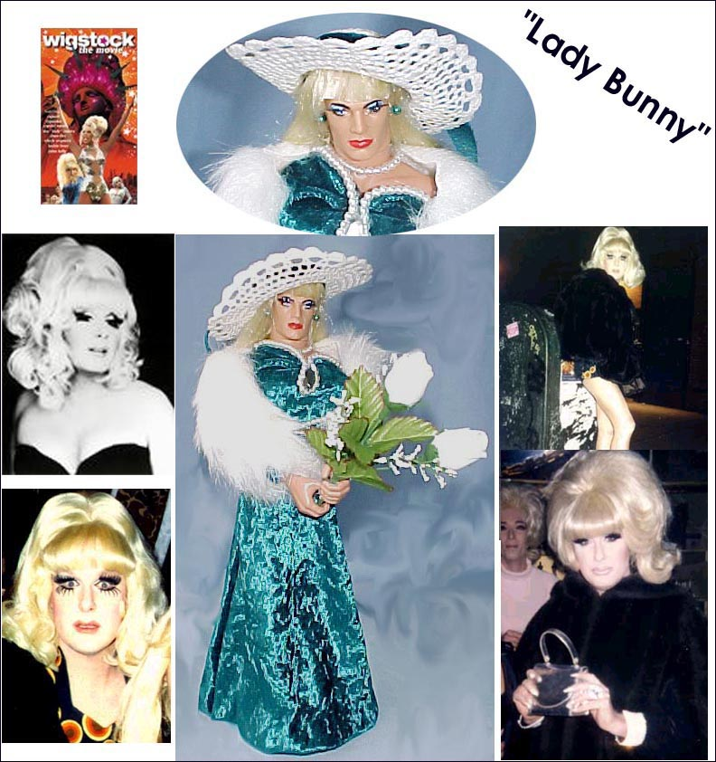 CLICK TO ENLARGE Lady Bunny!