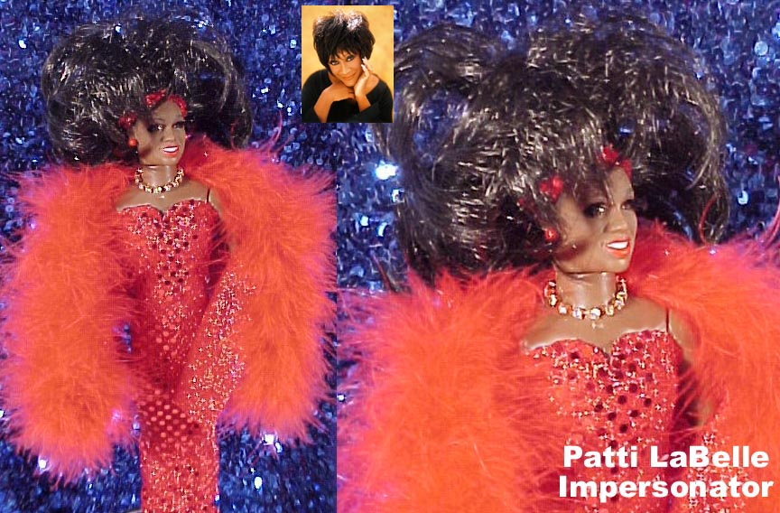 ~SOLD~ CLICK TO ENLARGE Patti LaBelle Impersonator!