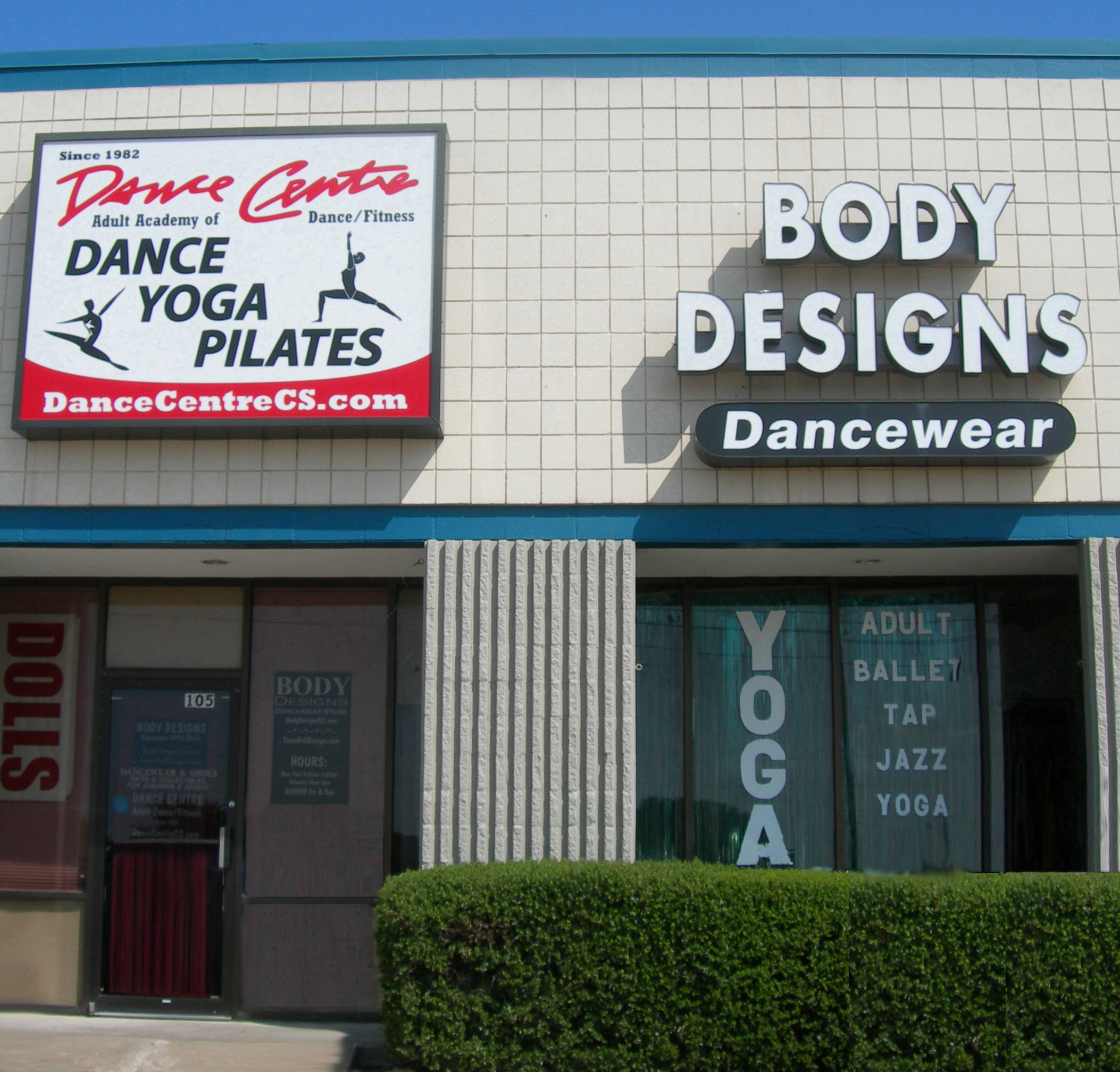 Body Designs Dancewear, Dance Centre 