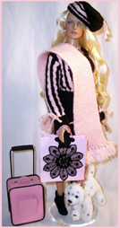 Eden repaint by Delia's Dolls -  outfit by Yke - Birthday