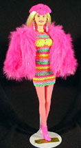 Mod Table Doll by Victoria's Treasures - Victoria Young - Denver 2002