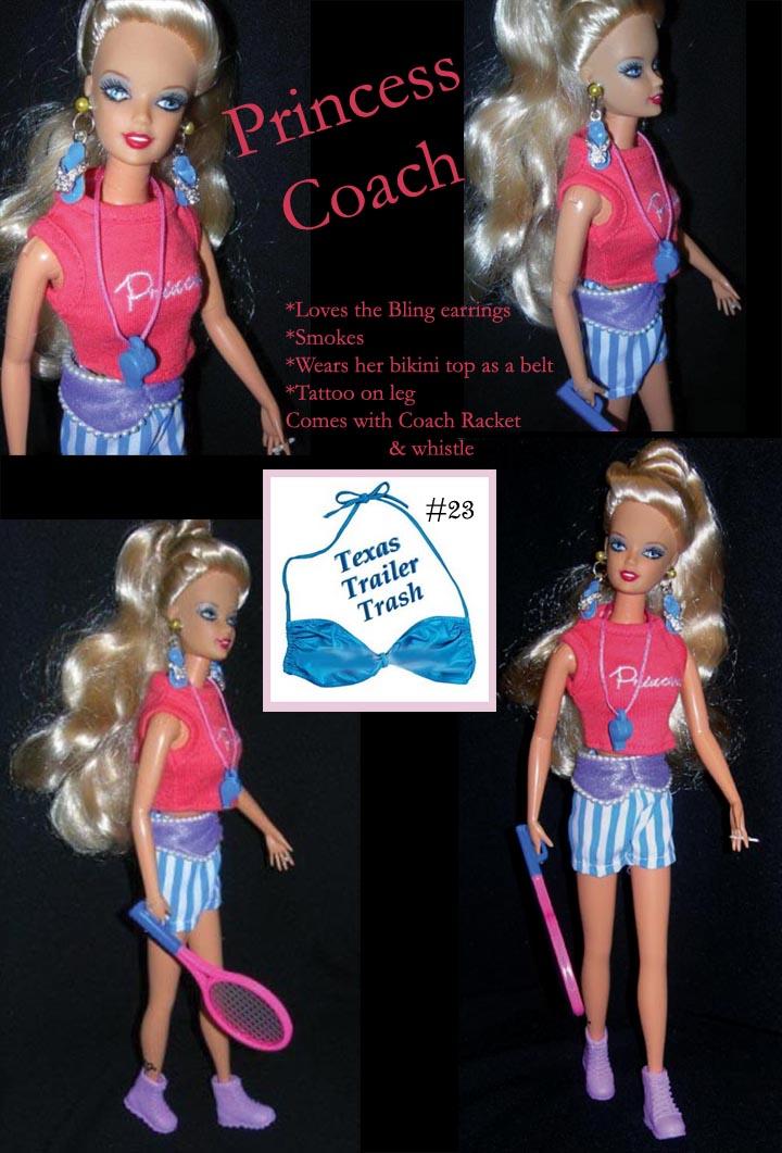 Trailer Trash Doll Atomicpopmonkey S Barbie Popculture Trailertrash